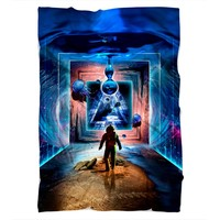 Astronaut Portal To The Beyond Blanket