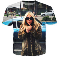 Lady Gaga LA Lit Shirt
