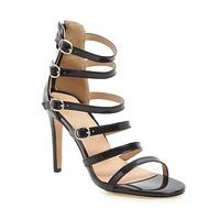 Women's High Heel Ankle Strap Hollowed-out Stiletto Heel Sandals