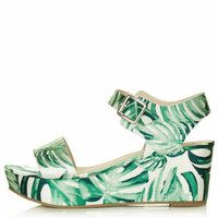 HEAVENLY Two Part Wedges - Green