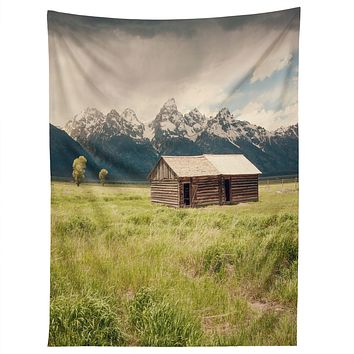 Catherine McDonald Summer In The Tetons Tapestry