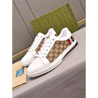 Gucci Men Fashion Boots fashionable Casual leather Breathable Sneakers Running Shoes06220ff