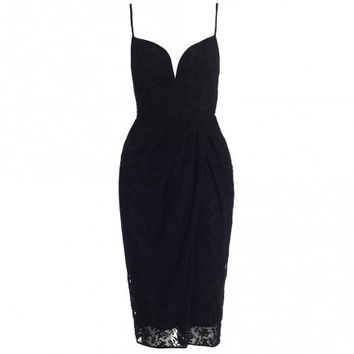 Backbeat Embroidered Dress - Ready To Wear