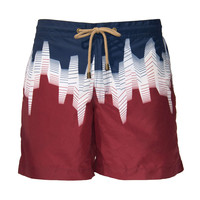 Thorsun Swimtrunk in Red Ombre