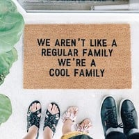 Cool Family Doormat