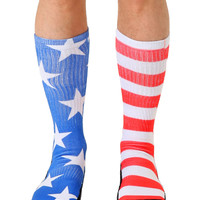 Stars and Stripes Sport Socks