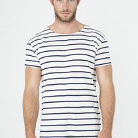 Levi's Vintage Clothing 1930's Bay Meadows White Striped T Shirt