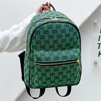 GG Multicolor Men's and Women's Canvas Double G Backpack