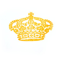 Crown Rubber Stamp - Handmade Stamp, Elegant Stamp, Royal Stamp, Princess Stamp