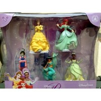 Disney Theme Park Princess Collectible Figure Playset NEW Mulan Tiana Jasmine Belle Ariel