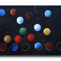 Lost Marbles Canvas Wall Art