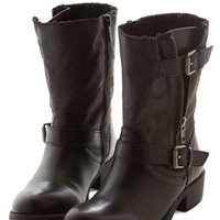 ModCloth Stride Open Spaces Boot in Black