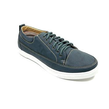 Mens Polar Fox Lace Up Canvas Casual Sneakers Shoes 30190 Blue-368