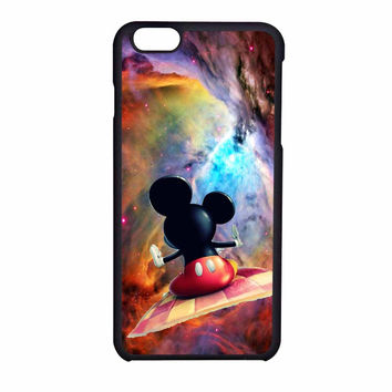 Mickey Mouse Flying With Carpet iPhone 6 Case