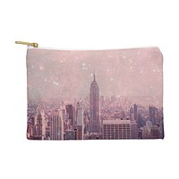 Bianca Green Stardust Covering New York Pouch
