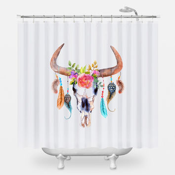 The Dream Catcher Shower Curtain