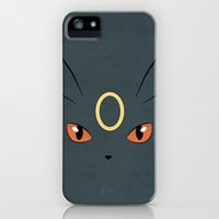 #197 Umbreon. Pokemon Poster - Eeveelution iPhone & iPod Case by Jorden Tually Art