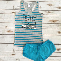 Be Awesome Pajama Set