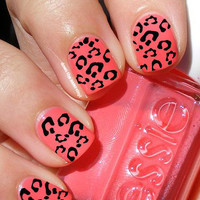 Leopard Nail Decals - Set of over 200