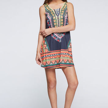 Tribal Tunic Dress – Gypsy Outfitters - Boho Luxe Boutique