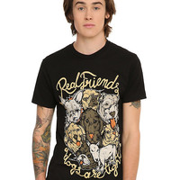 Real Friends Dogs Are Tight T-Shirt