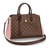 Louis Vuitton Damier Canvas Normandy Tote Handbag Article: N41488 Magnolia France