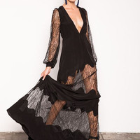 Stone Cold Fox || Friar gown in black