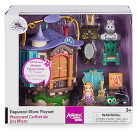 Disney Animators' Collection Littles Rapunzel Micro Doll Play Set New with Box