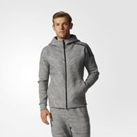 adidas Z.N.E. Travel Hoodie - Stone Heather | adidas US