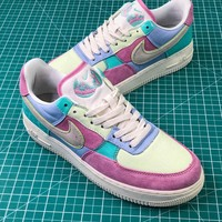 Nike Air Force 1 Low Af1 Easter Egg 18 | Ah8462-400 Sport Fashion Shoes - Best Online Sale