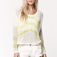 Roxy Rocky Point Pullover Sweater - Womens Sweater - White