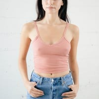 Kenny Crop Tank - Rose