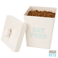 Martha Stewart™ Cat Food Jar - Food Storage & Scoops - Bowls & Feeding Accessories - PetSmart