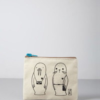 Stacy Michelson Seal Walrus Coin Purse