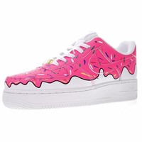 "Nike Air Force 1 Low Canvas AF1 Sneaker ""Ice cream""596728-818"