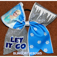 Let It Go CHEER BOW