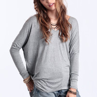 Raising The Stakes Oversized Top