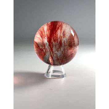 Red Smelted Sphere & Stand