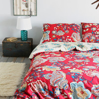 Magical Thinking Ruby Garden Duvet Cover - Urban Outfitters