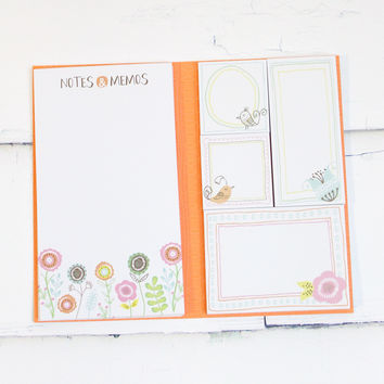 Book of Sticky Notepads {Floral Tree}