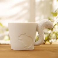 candle cups coffee mug animal random