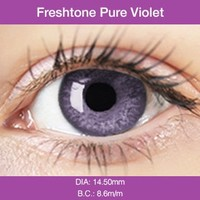 Pure Violet Colored Contacts