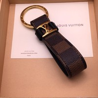 Louis Vuitton Lv M62706 Dragonne Key Holder Brown Style 12