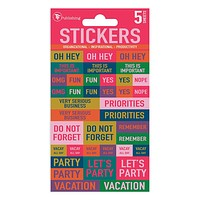 In Any Event Planning Stickers
