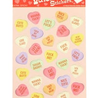 X-RATED VALENTINE DAY STICKERS