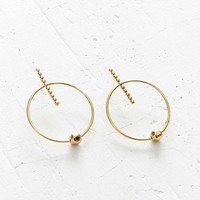 We Who Prey Medium Axis Hoop Earring - Urban Outfitters