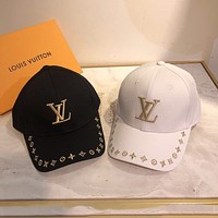 Louis Vuitton LV new style baseball cap casual fashion all-match cap