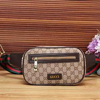 Gucci Fashion Women Leather Satchel Shoulder Bag Crossbody