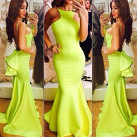 Elegant Long Prom Dresses Special Occasion Dresses Party Gown Evening Dress = 4769394884