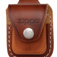 Zippo Lighter Pouch Loop Brown High Quality Durable Popular